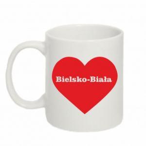 Mug 330ml Bielsko-Biala in the heart