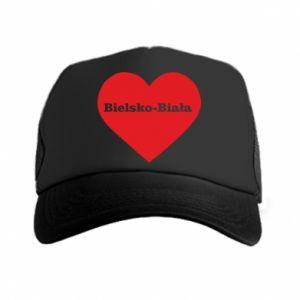 Trucker hat Bielsko-Biala in the heart