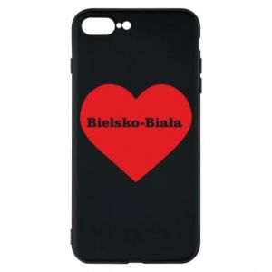 Phone case for iPhone 8 Plus Bielsko-Biala in the heart
