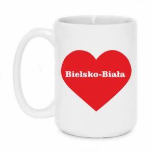 Kubek 450ml Bielsko-Biała w sercu - PrintSalon