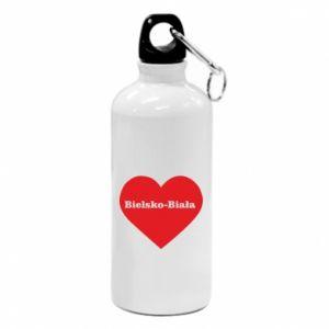 Water bottle Bielsko-Biala in the heart