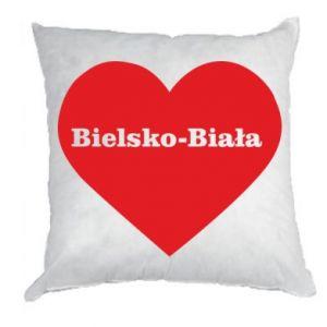 Pillow Bielsko-Biala in the heart