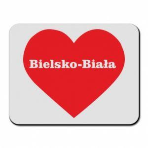 Mouse pad Bielsko-Biala in the heart