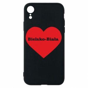 iPhone XR Case Bielsko-Biala in the heart