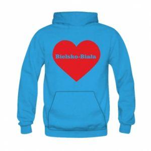 Kid's hoodie Bielsko-Biala in the heart