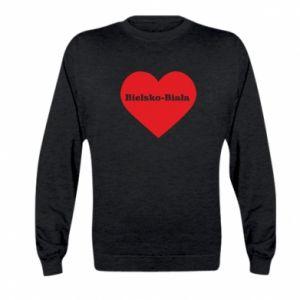 Kid's sweatshirt Bielsko-Biala in the heart