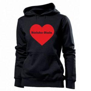 Women's hoodies Bielsko-Biala in the heart