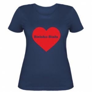 Women's t-shirt Bielsko-Biala in the heart