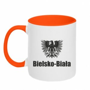 Kubek dwukolorowy Bielsko-Biała - PrintSalon