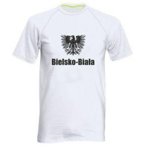 Men's sports t-shirt Bielsko-Biala