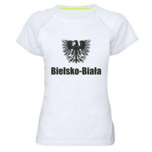 Women's sports t-shirt Bielsko-Biala