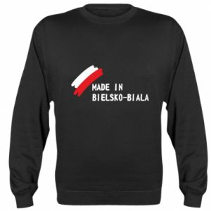 Sweatshirt Made in Bielsko-Biala