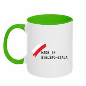 Kubek dwukolorowy Made in Bielsko-Biala
