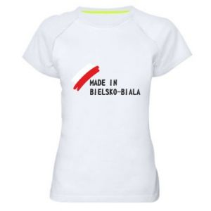 Women's sports t-shirt Made in Bielsko-Biala