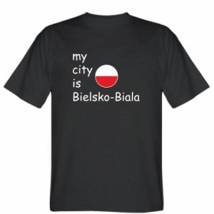 T-shirt My city is Bielsko-Biala