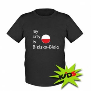 Kids T-shirt My city is Bielsko-Biala