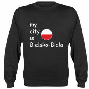 Sweatshirt My city is Bielsko-Biala