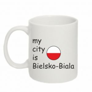 Mug 330ml My city is Bielsko-Biala