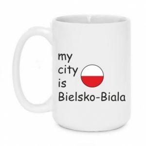 Kubek 450ml My city is Bielsko-Biala - PrintSalon