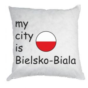 Pillow My city is Bielsko-Biala