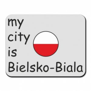 Mouse pad My city is Bielsko-Biala