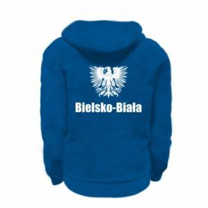 Kid's zipped hoodie % print% Bielsko-Biala