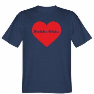 T-shirt Bielsko-Biala in the heart