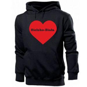 Men's hoodie Bielsko-Biala in the heart
