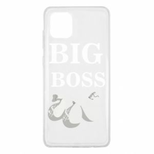 Samsung Note 10 Lite Case Big boss