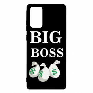 Samsung Note 20 Case Big boss