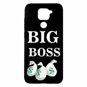 Xiaomi Redmi Note 9 / Redmi 10X case % print% Big boss