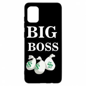 Samsung A31 Case Big boss