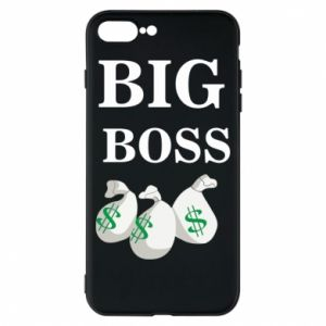 Phone case for iPhone 8 Plus Big boss