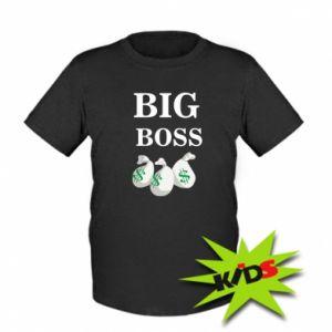 Dziecięcy T-shirt Big boss - PrintSalon