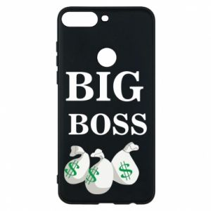 Phone case for Huawei Y7 Prime 2018 Big boss