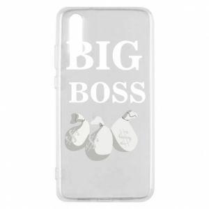 Phone case for Huawei P20 Big boss