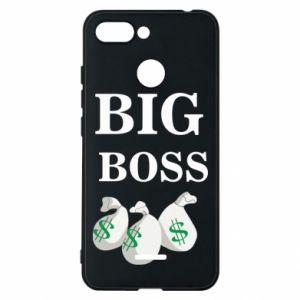 Phone case for Xiaomi Redmi 6 Big boss