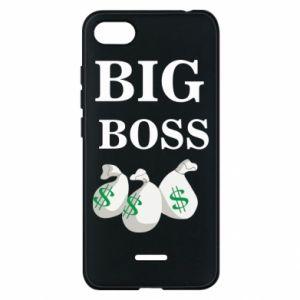 Phone case for Xiaomi Redmi 6A Big boss