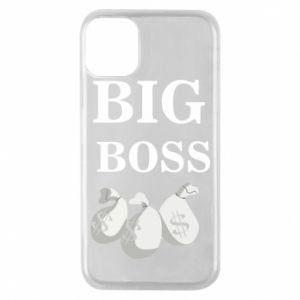 Phone case for iPhone 11 Pro Big boss