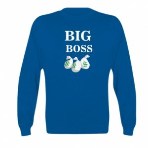Kid's sweatshirt Big boss