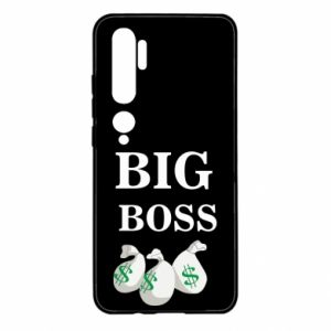 Xiaomi Mi Note 10 Case Big boss