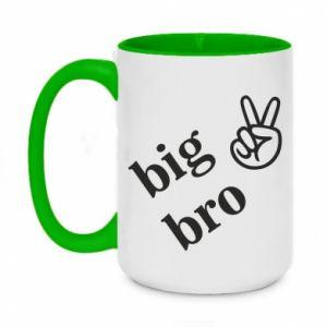 Two-toned mug 450ml Big bro
