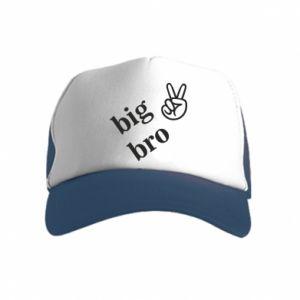 Kid's Trucker Hat Big bro