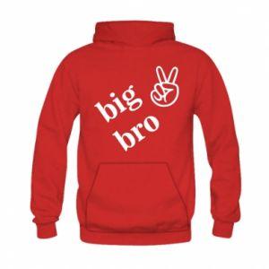 Kid's hoodie Big bro