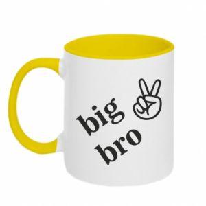 Two-toned mug Big bro