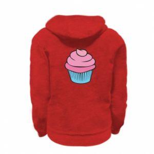 Bluza na zamek dziecięca Big cupcake