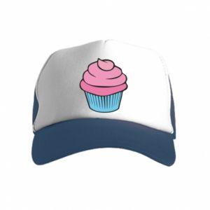 Czapka trucker dziecięca Big cupcake