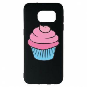 Etui na Samsung S7 EDGE Big cupcake