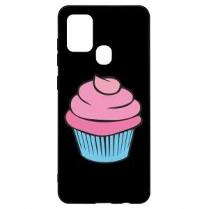 Etui na Samsung A21s Big cupcake