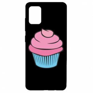 Etui na Samsung A51 Big cupcake